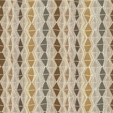 Beige/Grey/Ivory Diamond Drapery and Upholstery Fabric by Kravet