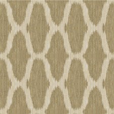 Chestnut Ikat Drapery and Upholstery Fabric by Kravet