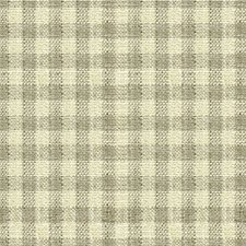 Grey/White Check Drapery and Upholstery Fabric by Kravet