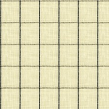 Black/Beige/Grey Check Drapery and Upholstery Fabric by Kravet
