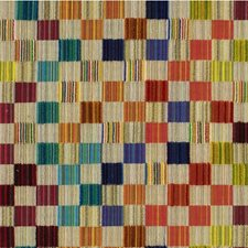 Beige/Multi Check Drapery and Upholstery Fabric by Kravet