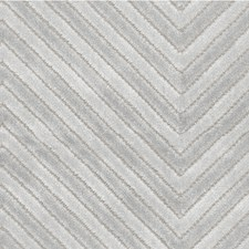Silver Geometric Drapery and Upholstery Fabric by Kravet