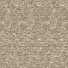 Beige/Taupe Geometric Drapery and Upholstery Fabric by Kravet