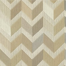 Beige/Grey/Ivory Geometric Drapery and Upholstery Fabric by Kravet