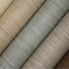 Flaxen Drapery and Upholstery Fabric by Clarence House