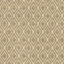 Gold/Ivory Diamond Drapery and Upholstery Fabric by Kravet