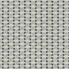 Beige/Blue Texture Drapery and Upholstery Fabric by Kravet