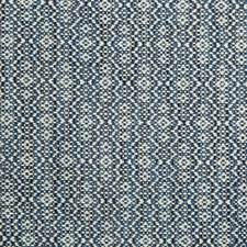 Blue/Light Blue/Ivory Geometric Drapery and Upholstery Fabric by Kravet