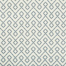 Light Blue/Blue/Light Grey Lattice Drapery and Upholstery Fabric by Kravet