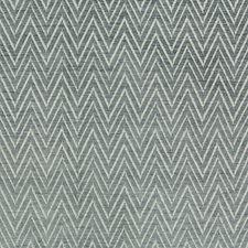 Light Grey/White Herringbone Drapery and Upholstery Fabric by Kravet