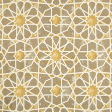 Bronze/Camel/Ivory Ethnic Drapery and Upholstery Fabric by Kravet