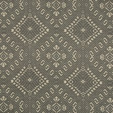Coal Ethnic Drapery and Upholstery Fabric by Kravet
