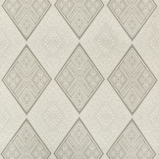 Ivory/Beige/Grey Diamond Drapery and Upholstery Fabric by Kravet