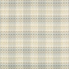 Cornflower Plaid Drapery and Upholstery Fabric by Kravet