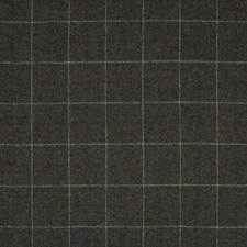 Charcoal/Grey Check Drapery and Upholstery Fabric by Kravet