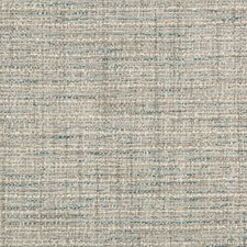 Light Grey/Teal/Ivory Solids Drapery and Upholstery Fabric by Kravet