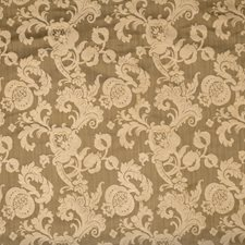 Truffle Scrollwork Drapery and Upholstery Fabric by Fabricut