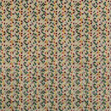Ivory/Pink/Blue Geometric Drapery and Upholstery Fabric by Kravet