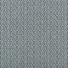 White/Indigo Small Scales Drapery and Upholstery Fabric by Kravet