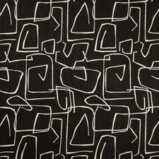 Black/White Modern Drapery and Upholstery Fabric by Kravet