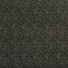 Charcoal/Grey Herringbone Drapery and Upholstery Fabric by Kravet