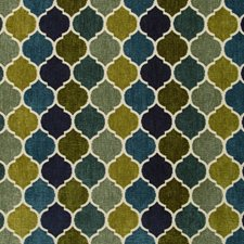 Beige/Blue/Green Small Scales Drapery and Upholstery Fabric by Kravet