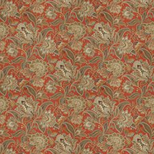 Pompeii Floral Drapery and Upholstery Fabric by Fabricut