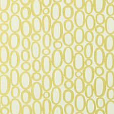 Lemon Abstract Drapery and Upholstery Fabric by Duralee