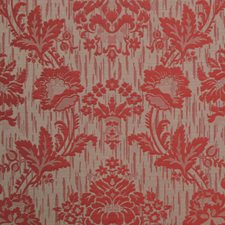 Rosso Jacquard Drapery and Upholstery Fabric by Scalamandre