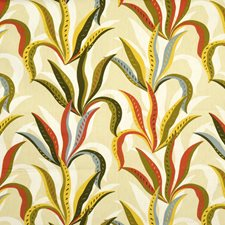 Russet Leaves Drapery and Upholstery Fabric by Fabricut