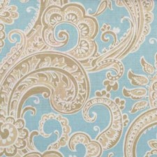 Blue Drapery and Upholstery Fabric by Robert Allen/Duralee