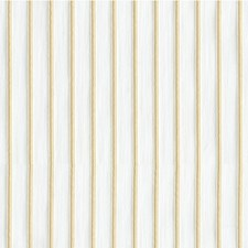 White/Yellow Stripes Drapery and Upholstery Fabric by Kravet