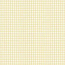 White/Yellow Check Drapery and Upholstery Fabric by Kravet