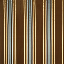 Aqua Stripes Drapery and Upholstery Fabric by Fabricut