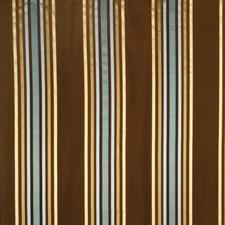 Aqua Stripes Drapery and Upholstery Fabric by Fabricut