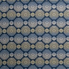 Cobalt Global Drapery and Upholstery Fabric by Fabricut