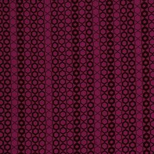 Magenta Geometric Drapery and Upholstery Fabric by Fabricut