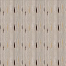 Brown/Beige Stripes Drapery and Upholstery Fabric by Kravet