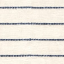 White/Blue Stripes Drapery and Upholstery Fabric by Kravet