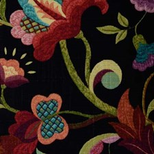 Black Cherry Drapery and Upholstery Fabric by Duralee