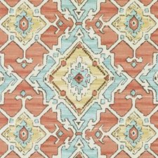 Papaya Diamond Drapery and Upholstery Fabric by Duralee