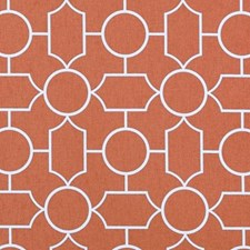 Papaya Dots Drapery and Upholstery Fabric by Duralee