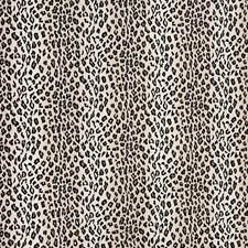 Snow Leopard Drapery and Upholstery Fabric by Schumacher