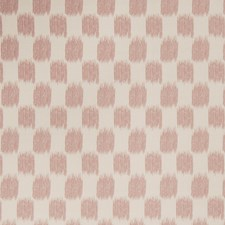 Blush Flamestitch Drapery and Upholstery Fabric by Trend
