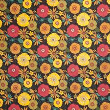Jungle Floral Drapery and Upholstery Fabric by Trend