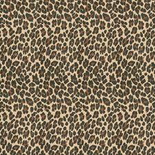 Malachite Animal Drapery and Upholstery Fabric by Stroheim