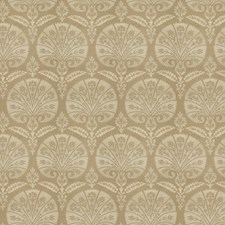 Sterling Medallion Drapery and Upholstery Fabric by Stroheim
