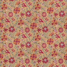 Exotic Berry Floral Drapery and Upholstery Fabric by Fabricut