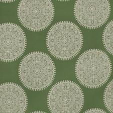 Jade Medallion Drapery and Upholstery Fabric by Fabricut