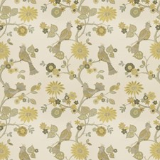 Lemongrass Animal Drapery and Upholstery Fabric by Trend